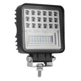 126W Square SMD 3030 Waterproof Working Light LED Work Light