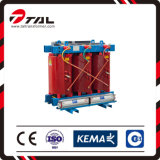6~10kv 30-2500kVA 3 Phase Dry Type Power Frequency Distribution Transformer Dyn11 Yyn0