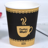 China Manufacturer Custom Logo Printed Disposable Single Wall Paper Cup Coffee Cup