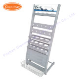 Wholesale Metal Floor Standing Sanitary Ware Product Floor Drain Tool Display Stand Shelving