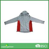 Outdoor Wear Waterpproof Hardshell Jacket with Mesh Lining Supplied by Factory