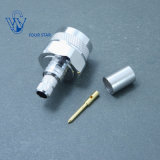 RF Coaxial Male Plug Crimp N Type Connector for LMR300 Cable