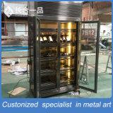 Pactical S/S 304# Black Titanium Non-Fingerprint Wine Cellar with Compressor
