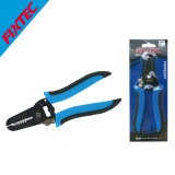 """Fixtec 7"""" Carbon Steel Wire Stripper with Plastic Handle"""