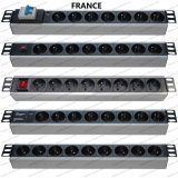 19 Inch France Type Universal Socket Network Cabinet and Rack PDU (1)