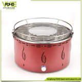 Commercial Stainless Steel Barrel BBQ Grill Portable Butane BBQ Grill