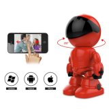 Mini Cartoon Kids Buddy Horizontal Rotation 360 Degree WiFi P2p Robot