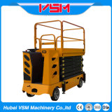 6-13m Electric Self Propelled Scissor Lift with Steering Wheel