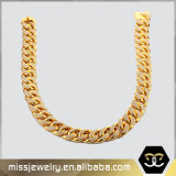 CZ Micro Paved Iced out Gold Hip Hop Necklace
