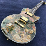 Quality Lp Style Electric Guitar with Chinese Beauty in (GLP-458)