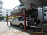 Two Levels Automotive Parking Equipment 4 Post Car Lift Storage