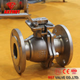 DIN3202 F4/F5 Flanged 2PC Stainless Steel Ball Valve