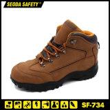 Nubuck Leather Fashion Sport Style Safety Shoes