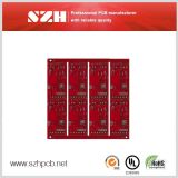 Red 6L Board 1.6mm 2oz Printed Circuit Board in Szh