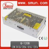 120W Quad Power Supply Switching (Q-120B 5V12V-5V-12V)