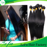 China Factory High Quality Natural Virgin Human Indian Hair Weft