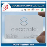 Superior Quality Business Cards Transparent PVC Beautiful Design