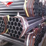 China Leading Manufacturer Youfa Group Ms ERW Welded Black Steel Pipe Mild Steel Pipe