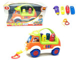 Kids DIY Intellectual Toy Battery Operated Car (H1308054)