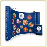 High Quality Trade Show Folding Pop up Stand (10FT Curved)