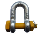 High Precision Free Forging Shackles Rigging Hardware for Metallurgy Machinery