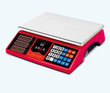 Red Double Display Weighing Price Scale (DH~588)