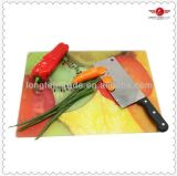 Custom Made Tempered Glass Cutting Boards with Non-Slip Mat