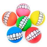 Puppy Pet Dog Ball Teeth PVC Chew Toys Sound Novelty Funny Pet Product