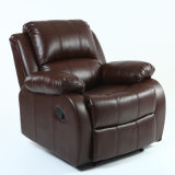 Reclining Luxury Single European Style Home Theater Manual Recliner Sofa