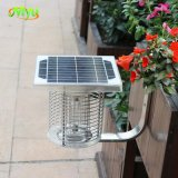 Automatic Light Sensor Bug Zapper Solar Powered Electrical Flies Moths Mosquitoes Killer Trap Waterproof