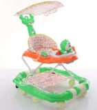 Top Quality Simple Model and Safety Baby Walker with 360 Universal Wheels