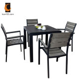 Water Proof Wholesale Modern Polywood Outdoor Garden Wooden Furniture Dining Set