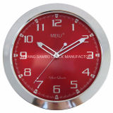 12 Inch 30 Cm Promotional Plastic Decorative Silent Quartz Wall Clock