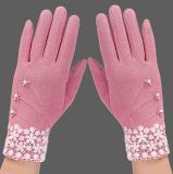 Touch Screen Women's Gloves Outdoor Winter Cotton Gloves Wholesale