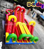 Kiddy Colorful Inflatable Combo Obstacle