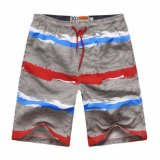 Men's Beach Fashion Printed Cycling Pants Shorts (Log-09I)
