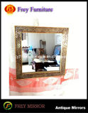 Fashion Mosaic Decorative Rectangle Wall Wood Mirror Frame
