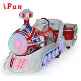 Theme Park Tourist Trackless Electrci Train Fiberglass 19 Players Amusement Equipment