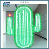 High Quality Cactus Inflatable Pool Floating Row