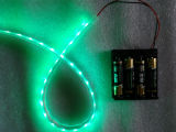 5V RGB Battery Powered LED Strip Light with Flash Controller