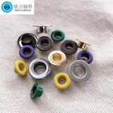Wholesale Manufacturer Fashion Metal Eyelet Brass Eyelets with Various Colors/ Sizes for Shoes/Clothes/ Bags /Leather Belt Metal Trims Garment Accessories
