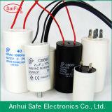 AC Motor Run/Start Capacitor Plastic Round Type