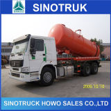 HOWO 15cbm Sewage Suction Tank Truck Price