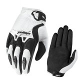 White Hot Sale Cross-Country Racing Motorcycle Gloves (MAG58)