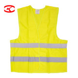 Wholesale Mesh Hi Vis Police Construction Work Reflection Safety Reflecting Strips Reflective Vest with Pockets