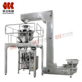 Automatic Vffs Machine Lapel Packaging Machine Attached Multihead Weigher Precision Weighing Packing Equipment