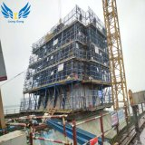 Lianggong Hydraulic Self-Climbing Steel Formwork on Concrete Construction