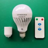 Remote Control LED Bulb 7W Rechargeable Lithium Battery Emergency Light