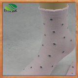 Eco-Friendly Bamboo Fiber Middle Socks for Women