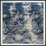 Tie-Dyed Embroidery Fabric Woven Eyelet Embroidery Fabric Flower Embroidery